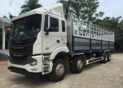Xe tải Jac A5 4 chân thùng bạt 17t9 giao toàn quốc