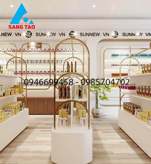 Các mô hình thiết kế thi công cửa hàng