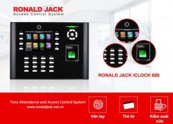 MÁY CHẤM CÔNG RONALD JACK ICLOCK 680