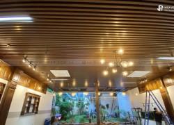 Công trình lam gỗ nhựa - đại lý tại Thanh Hóa thi công