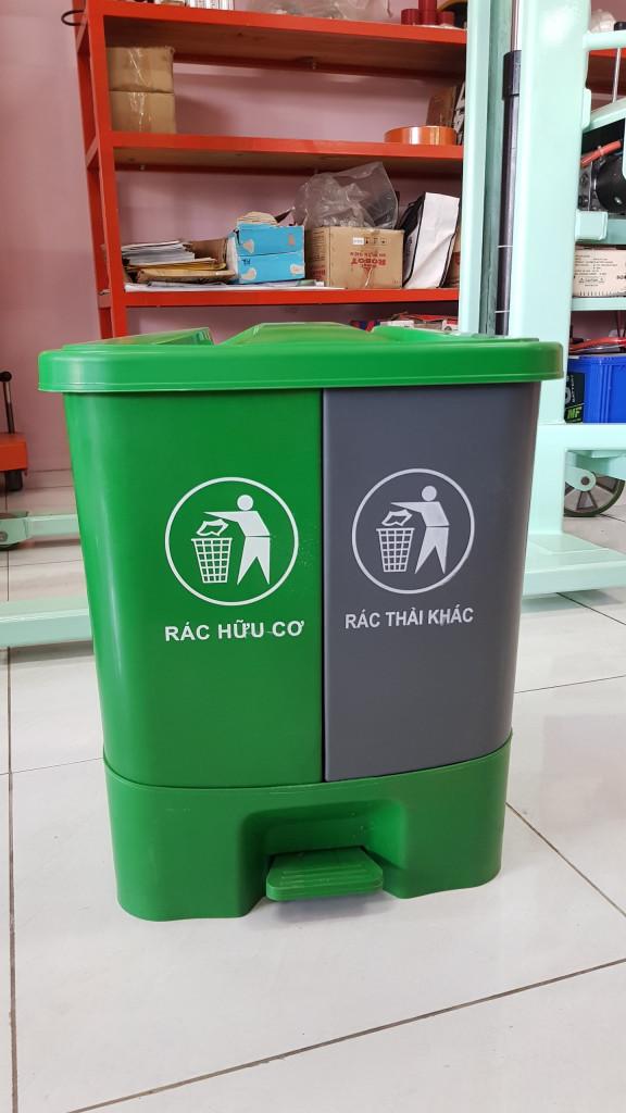 Thùng rác y tế Thùng rác 40 lít