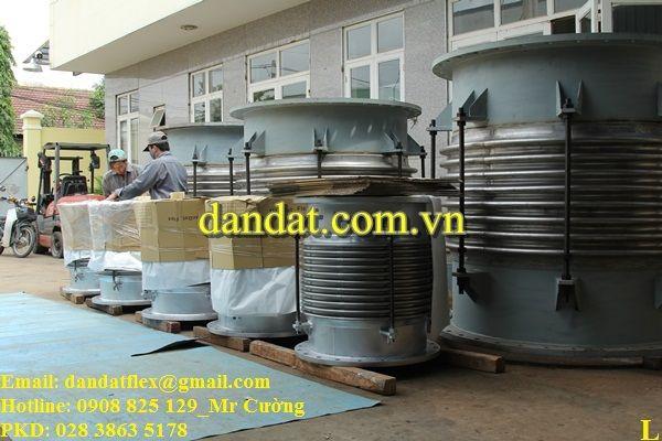 Các loại khớp nối giãn nở dùng cho nhà máy xi măng phổ biến hiện nay