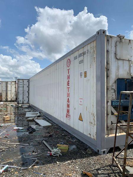 Container 40feet làm kho lạnh bảo quản thực phẩm