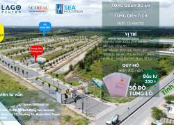 Bán đất nền sổ đỏ Lago Centro, Gía chỉ 1.2 tỷ/nền (CK 3%).  Mặt tiền đường Vành đai 4