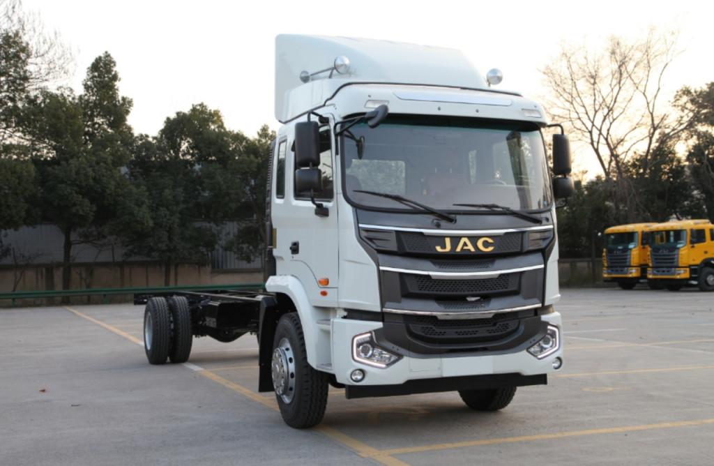 Bán xe tải JAC A5 thùng dài 9m6 tải trọng 7m6 nhập khẩu mới 100%