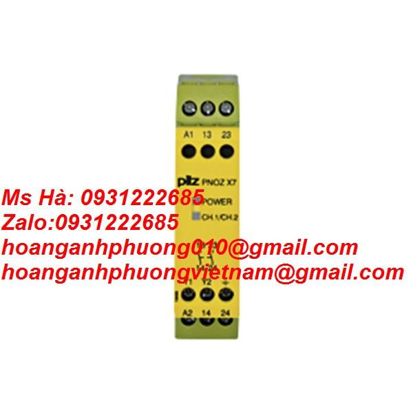 PNOZ X7 230VAC 2n/o Mô đun an toàn Pilz (774056)