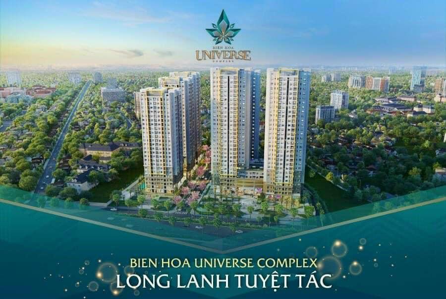 Chiết Khấu Khủng giảm 33% khi mua Căn hộ Biên Hòa Universe Complex giá từ 2,5 tỷ chỉ còn 1,8 tỷ.