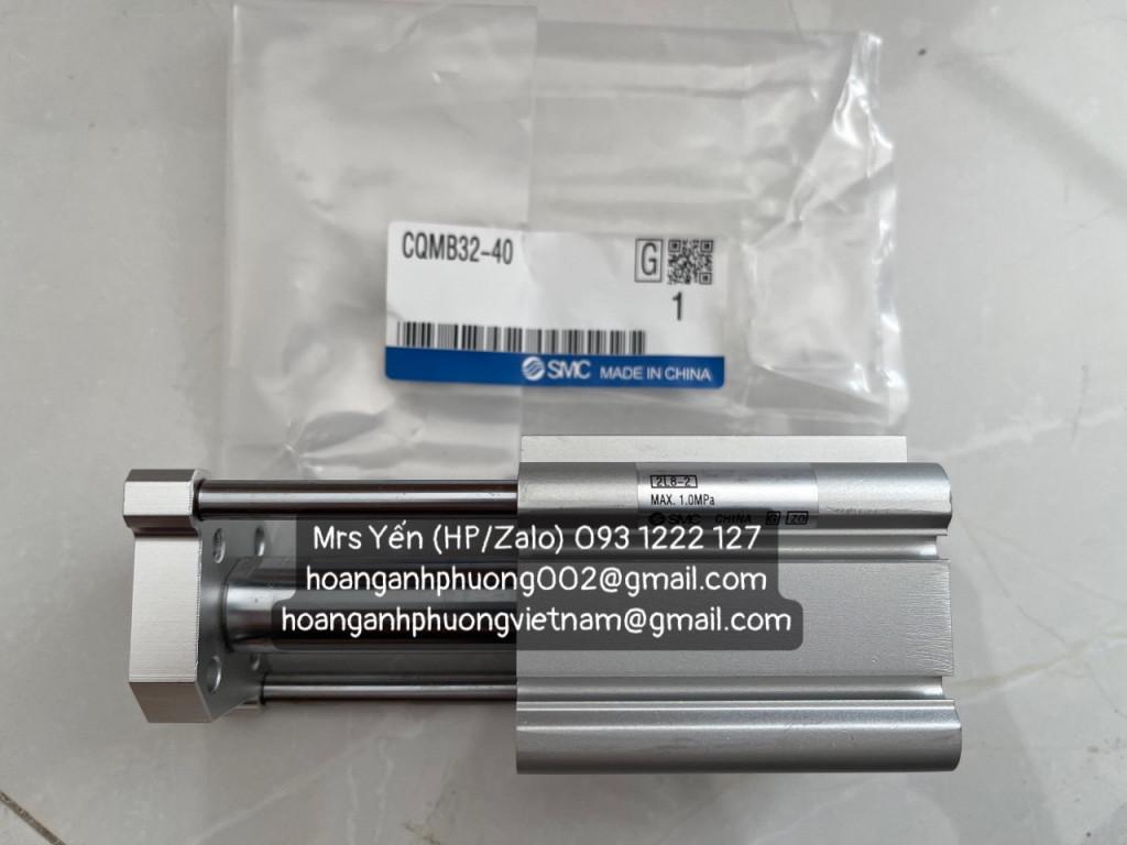 xi lanh khí CQMB32-40| SMC | Hoàng Anh Phương