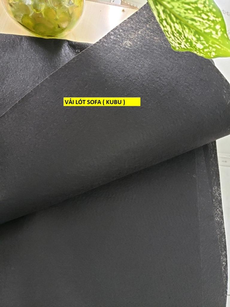 Vải kubu dùng làm lót sofa