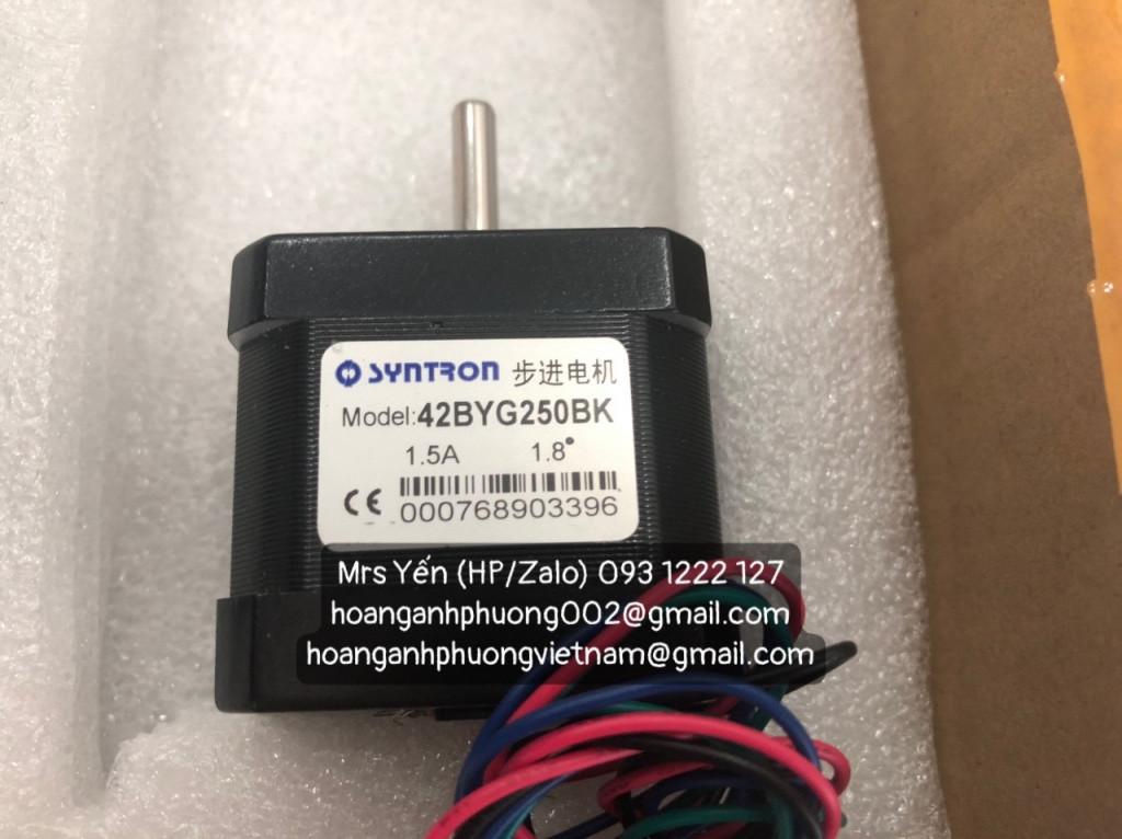Động cơ bước Syntron | SD-20403/42BYG250BK | Cty Hoàng Anh Phương