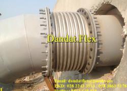 Khớp nối giãn nở trạm bơm nước   khớp nối mềm trạm bơm công nghiệp   Khớp nối inox chống rung