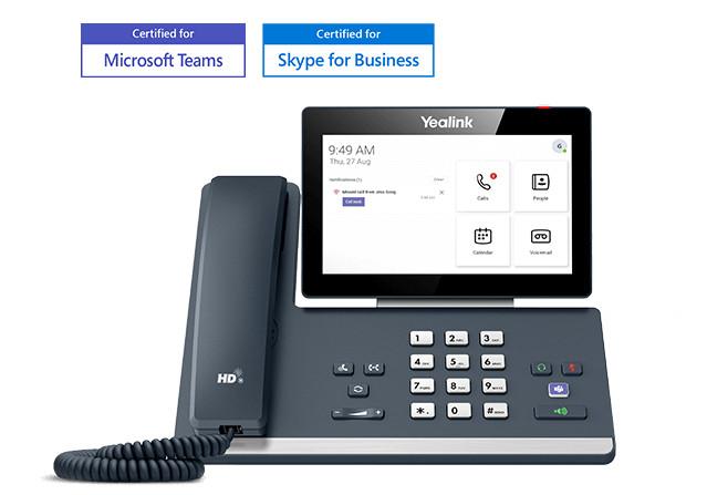 Điện thoại IP Yealink MP58 Microsoft Teams trải nghiệm chất lượng hoàn hảo
