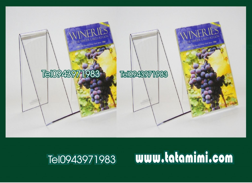 Giá sách được sản xuất từ mica uốn sắc nét