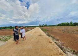 đất  đường Mỹ Xuân Ngãi Giao gần ỦY BANxã sông Xoài, TX Phú Mỹ , BRVT 0902514989