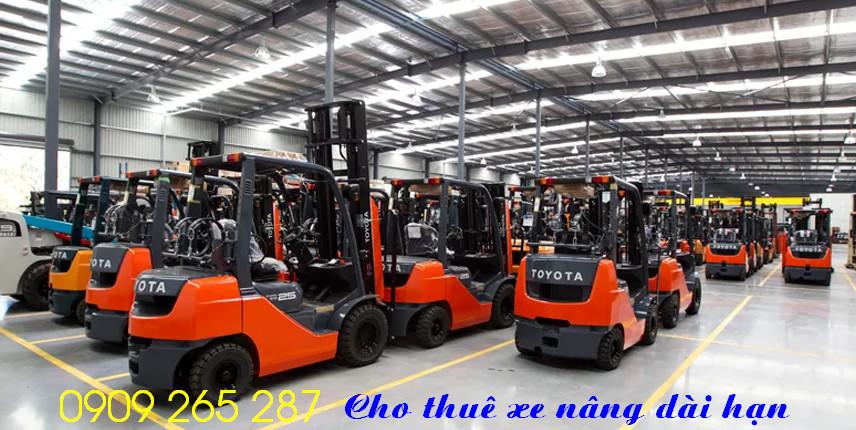 Cho thuê xe nâng hàng KCN Visip Sóng Thần Bình Dương 0909 265 287