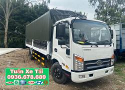 Bán xe tải Veam VT340S 3.5 tấn thùng mui bạt dài 6M