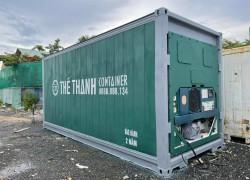 container lạnh bảo quản nhiệt độ mát