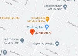 Bán đất mặt tiền đường Nguyễn Thái Bình, phường Long Toàn, Tp. Bà Rịa, Bà rịa Vũng Tàu