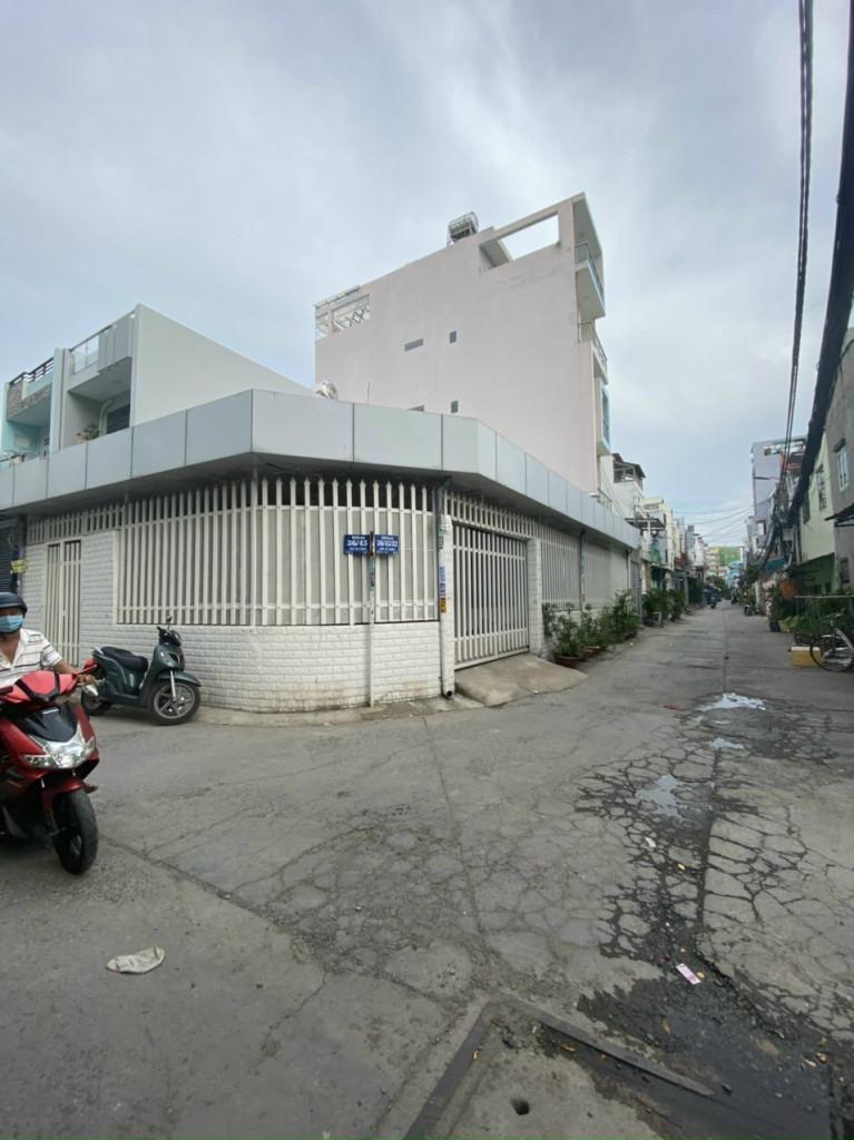 Bán nhà góc 2 mặt hẻm đường Lê cơ phường An lạc quận Bình Tân DT 8x16m giá 7 tỷ thương lượng