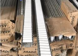 Thanh truyền con lăn nhựa 40, 60 (Roller) 4m/1 thanh, thanh truyền con lăn Asado – Hàn Quốc