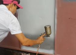 Thợ sơn cửa sắt chuyên nghiệp tại Bình Chánh