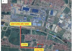 Bán lô đất ngay mặt Quốc Lộ 18 dự án Long Châu
