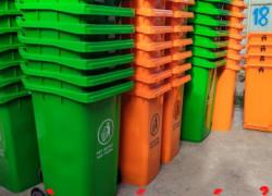 Đại lý thùng rác đồng tháp - thùng rác 120lit 240lit lh 0911.041.000