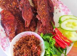 Cung cấp Bò một nắng muối kiến vàng - Đặc sản Krongpa Gia Lai giá sỉ