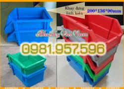 Khay nhựa có móc cài, khay nhựa A5, khay nhựa 719