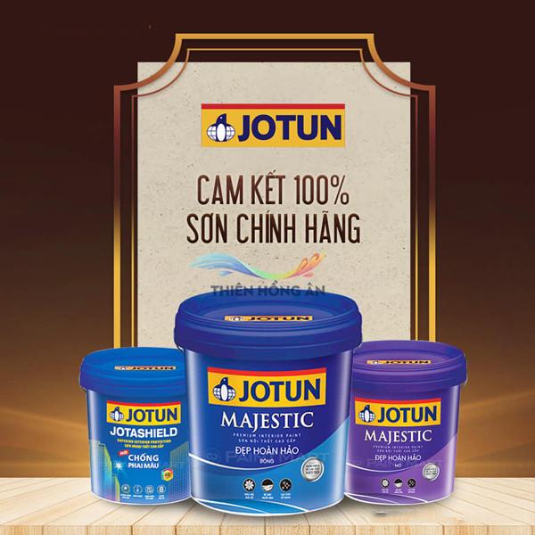 100% khách hàng tin dùng sơn nội thất Jotun Majestic