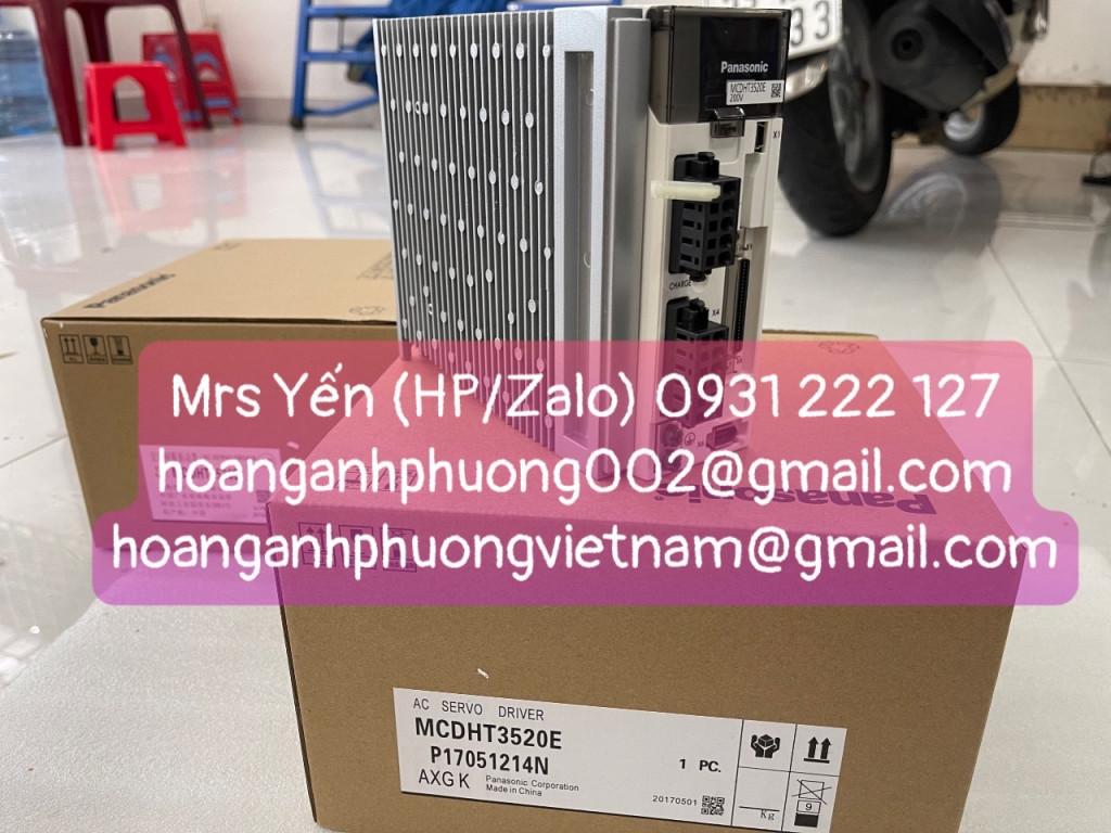 MCDHT3520E   AC Servo Driver Panasonic   Hàng chính hãng BH 12 tháng