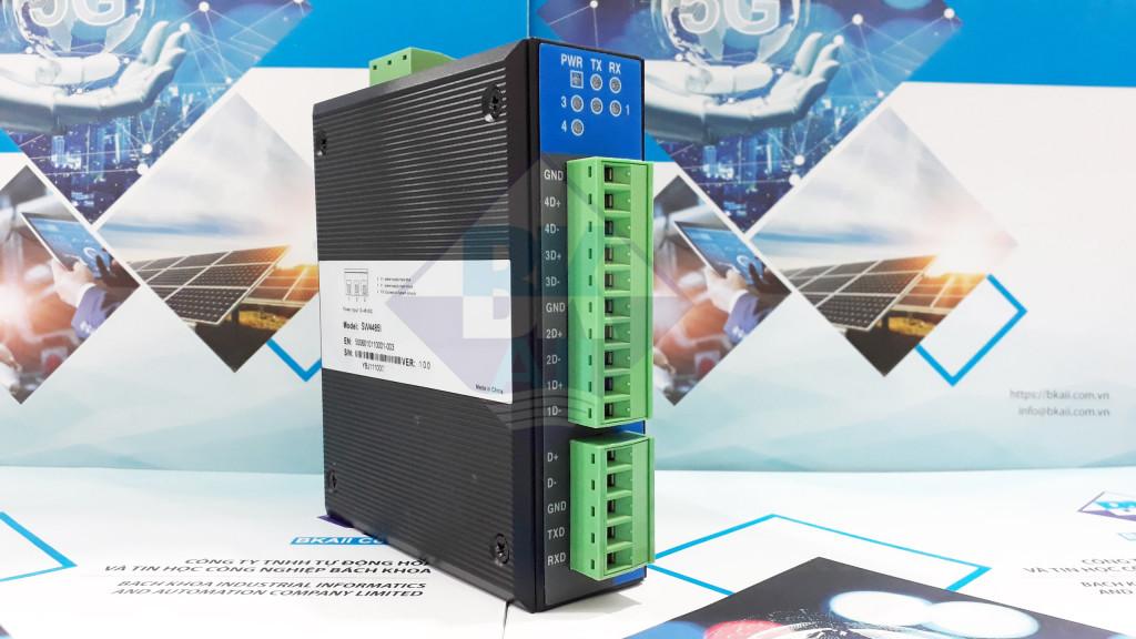 SW4485I: Bộ RS485 HUB 4 cổng