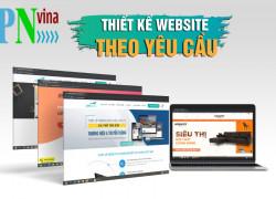 Gói thiết kế website trọn gói giao diện đẹp giá rẻ