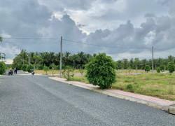 Bán đất nền cổng sau khu cổng tân hương tiền 100m2giang