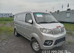 Bán tải Dongben Van 2 chỗ SRM thùng bạt có sẵn