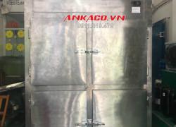 tủ đông inox 4 cánh bảo quản thực phẩm