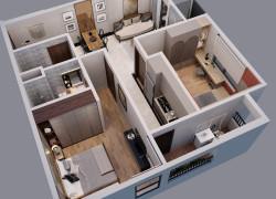 Bán căn hộ chung cư VCI - 2PN ban công Đông Nam duy nhất giá chủ đầu tư
