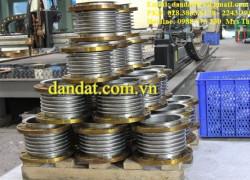 Ống nối mềm 2 đầu ren DN32, Ống nối mềm SUS304, Khớp nối mềm SUS316, Khớp nối giãn nở DN300