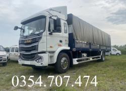 BÁO GIÁ XE JAC A5 7T6 THÙNG BẠT DÀI 9.6M