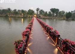 Sàn gỗ nhựa Việt Pháp - Lựa chọn tuyệt vời cho môi trường cầu cảng! !