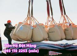 Bao jumbo 1 tấn mới cũ chuyên dụng trữ kho, vận chuyển xuất khẩu hàng hoá tải trọng lớn