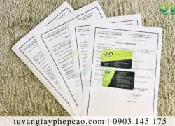 Quy trìnhxin giấy chứng nhận y tế cho sủi cảo