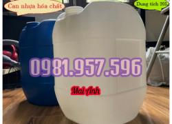 Can nhựa nguyên sinh, can nhựa đựng hóa chất, can nhựa 20L