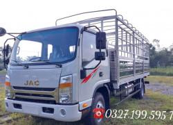 Xe tải Jac N650 plus thùng bạt 6m2 có sẵn giao ngay