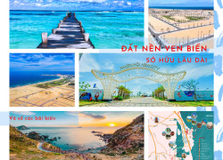 Đất nền ven biển-khu kinh tế cảng biển quốc tế Nhơn Hội