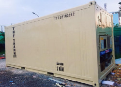 container lạnh 20feet cao 2.9m