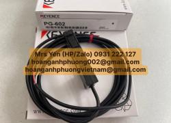 PG-602 | Chuyên cấp hàng Keyence giá tốt | Hoàng Anh Phương
