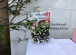 Rong biển nấu canh miso, rong biển đậu hũ khô Nagaya 100g Nhật Bản