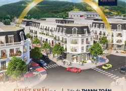 Cần tiền bán gấp căn Platin Center shophouse Cẩm Phả đã xây dựng xong có sổ đỏ.hỗ trợ lãi ngân hàng