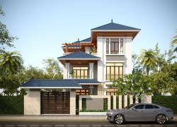 Phong cách thiết kế biệt thự hiện đại 2 tầng tại Bà Rịa Vũng Tàu nổi bật nhất 2021